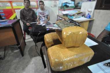 Pengedar Ganja Ditangkap saat Transaksi di Belakang Kantor BNN Sumbar