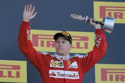 Raikkonen Bidik Podium GP Monaco