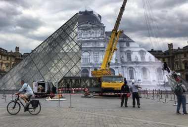 Ada yang Baru dari Museum Louvre Prancis