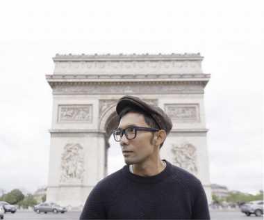 FOTO: Liburan di Prancis, Indra Herlambang Eksis di Sosmed