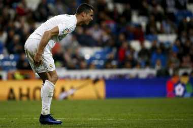 Ronaldo Disindir soal Umur yang Tak Lagi Muda