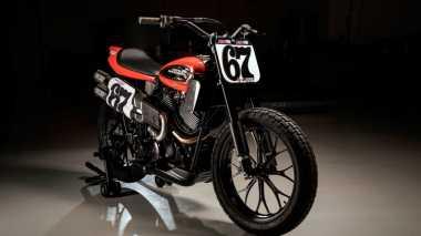 Harley Davidson Bikin Motor XG750R Bergaya Flat Track