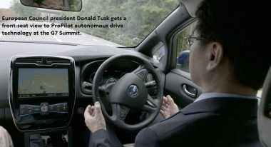 3 Produsen Automotif Pamer Teknologi Otonom ke Pemimpin Negara G7