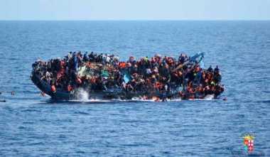 Dalam Sehari, 4 Ribu Pengungsi Diselamatkan di Laut Mediterania