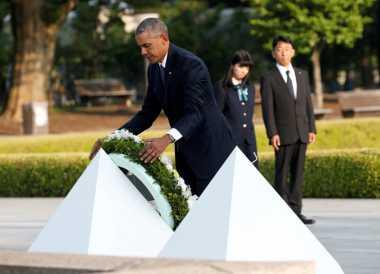 Kunjungan Bersejarah Obama ke Museum Tragedi Hiroshima