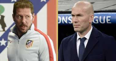 Soccerpedia: Head-to-Head Zidane vs Simeone Jelang Final Liga Champions 2015-2016