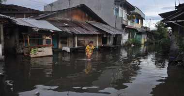 Banjir 1 Meter Rendam Dua Desa di Barito Selatan