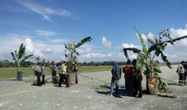 Runway Bandara Sentani Dipalang, Aktivitas Penerbangan Terganggu