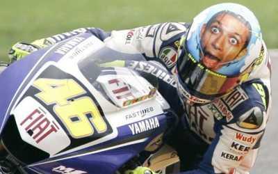 Momen di Mugello Jadi Insipirasi Pembuatan Helm Sensasional Valentino Rossi