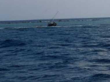 Kapal yang Diduga Ditumpangi WNA Hilang Ditemukan