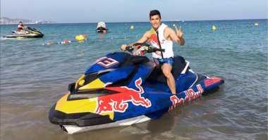Libur Balapan MotoGP, Marc Marquez Pilih Bersantai di Ibiza