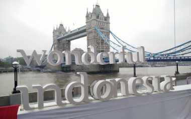 Wow, Ada 'Wonderful Indonesia' di Potters Field London