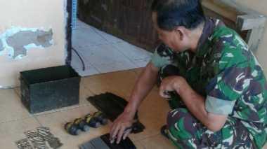 Granat dan Puluhan Amunisi Ditemukan di Rumah Warga Mojokerto