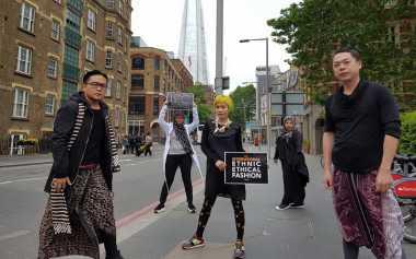 Penampilan Terbaik Desainer IFC di Indonesian Weekend London
