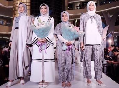 Persembahan Restu Anggraini di Ramadhan Fashion Delight 2016