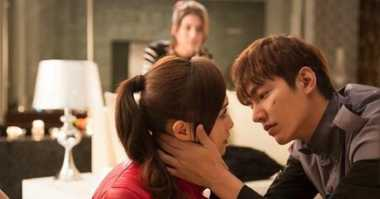 TOP MOVIE: #10 Lee Min Ho Cium Tiffany di Bounty Hunters