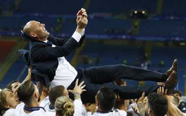 Zidane Sandang Predikat Pelatih Prancis Pertama yang Berhasil Menjuarai Liga Champions