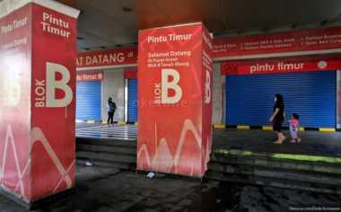 Dishubtrans Uji Coba U-turn di Depan Pasar Blok B Tanah Abang