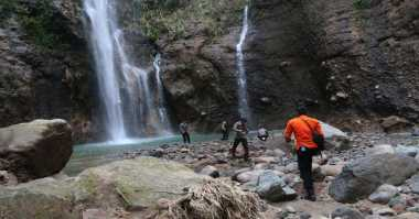 Pencarian Terakhir, Dua Korban Air Terjun Tak Ditemukan