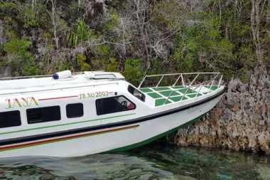 Kronologi Kecelakaan Speed Boat di Raja Ampat