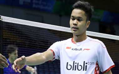 Gagal di Piala Thomas, Anthony Ginting Tatap BCA Indonesia Open dengan Percaya Diri