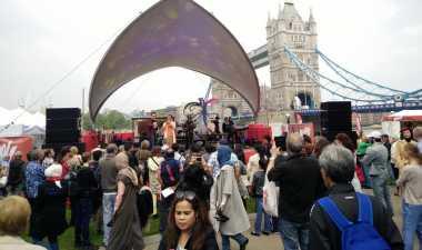 Wow, Indonesian Weekend London Lampaui Target 30 Ribu Lebih Pengunjung