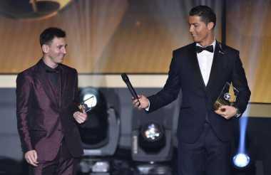 Cristiano Ronaldo Tidak Dihargai Layaknya Lionel Messi