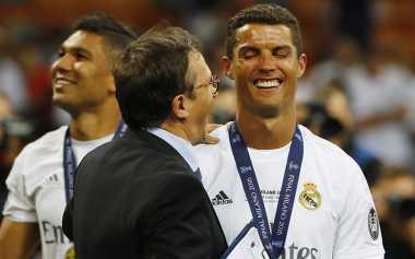 Presiden Real Madrid: Ronaldo Harus Selamanya di Madrid