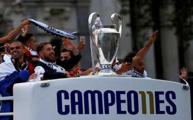 Gelar Liga Champions Jadi Pembuktian Madrid kepada Haters