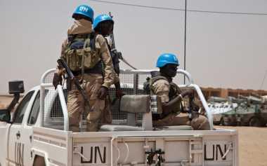 Lima Tentara Perdamaian PBB Tewas saat Konvoinya Disergap