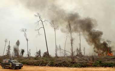 Hubungan Indonesia-Singapura Terancam UU Polusi Asap Lintas Batas