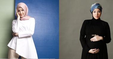 FOTO: Inspirasi Gaya Hijab Kasual ala Natasha Rizki