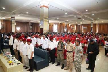 Pelantikan DPRt Perindo Bekasi Diawali Prosesi Penghormatan Pahlawan