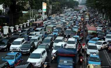 Lalu Lintas di Jakarta Pagi Ini Padat
