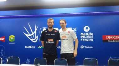 Ganda Putra Denmark Jadikan Indonesia Open 2016 untuk Evaluasi