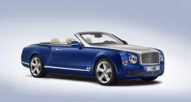 Hanya Dibuat 20 Unit, Bentley Mulsanne Atap Terbuka Bakal Dijual Rp20 M