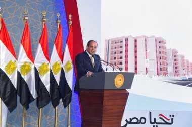 Presiden Mesir Janji Tindak Pembakar Rumah Kristen Koptik