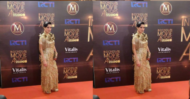 TOP FASHION 2: Gatsby Style ala Marcella Zalianty di IMA Awards 2016