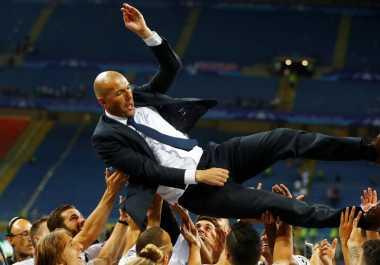 Ramos Terima Kasih kepada Zidane atas Gelar Liga Champions ke-11