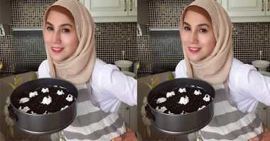 TOP FOOD 2: Resep Oreo Cheese Cake 'No Bake' ala Marini Zumarni