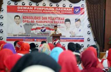 Lantik 187 DPRt, Hary Tanoe Serukan Kader Harus Bangun Masyarakat