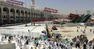 Santunan Korban Crane Masjidil Haram Segera Dicairkan