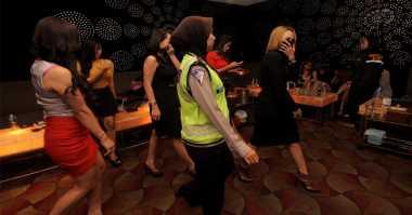 Jelang Ramadan, Polisi Razia Tempat Hiburan Malam di Tangerang