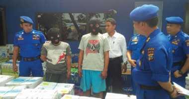 Polair Polda Riau Gagalkan Upaya Penyelundupan Ratusan Kardus Buah Ilegal