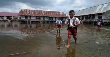 Ribuan Rumah di Wajo Direndam Banjir 50 Cm