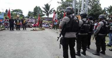 Polisi Gagalkan Aksi KNPB di DPRD Mimika