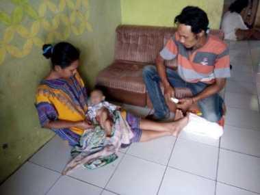 Idap Penyakit Langka, Bayi di Serang Butuh Bantuan