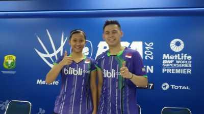 Target Riky/Richi di Indonesia Open 2016