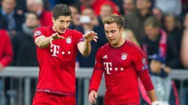 Legenda Cibir Cara Bayern Memperlakukan Gotze dan Lewandowski