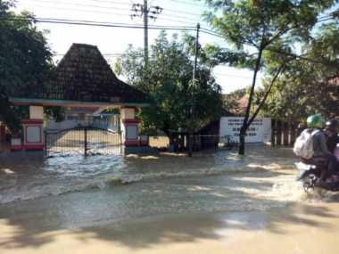 Banjir di Bangkalan, SD Diliburkan